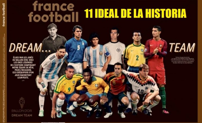 Balón de Oro Dream Team | El 11 Ideal de la Historia