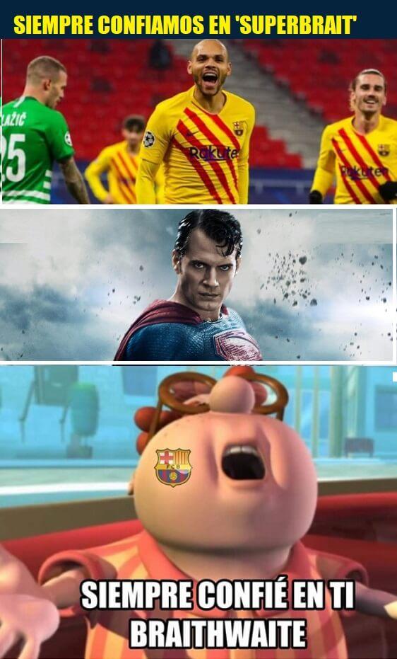 Memes Betis-Barcelona 2021