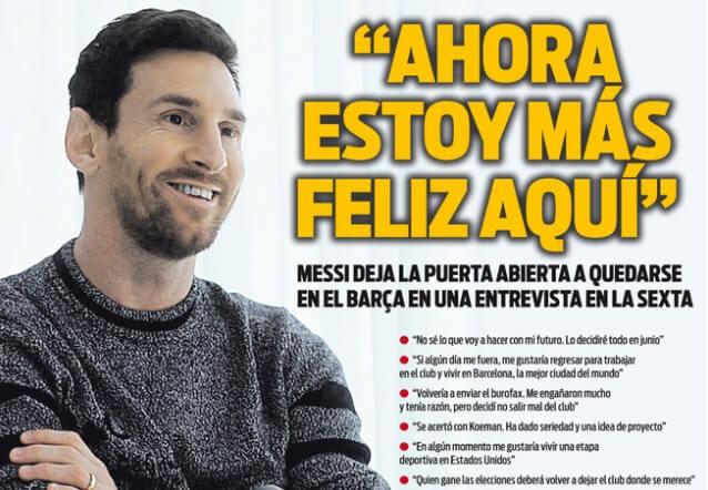 Portadas Diarios Deportivos Lunes 28/12/2020
