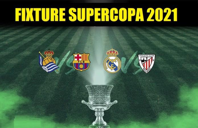 Supercopa España 2021 Calendario de Partidos, Horarios y TV