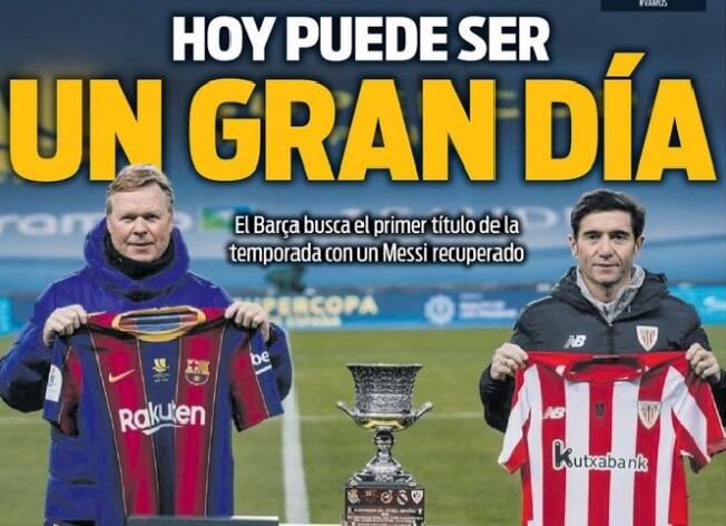 Portadas Diarios Deportivos Domingo 17/1/2021
