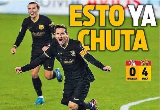 Portadas Diarios Deportivos Domingo 10/1/2021