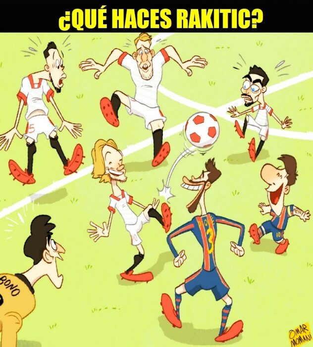 Memes Barcelona-Sevilla Copa del Rey 2021