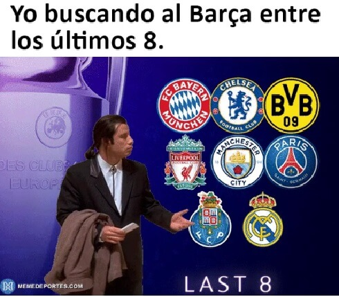 Memes Sorteo Cuartos Champions 2021