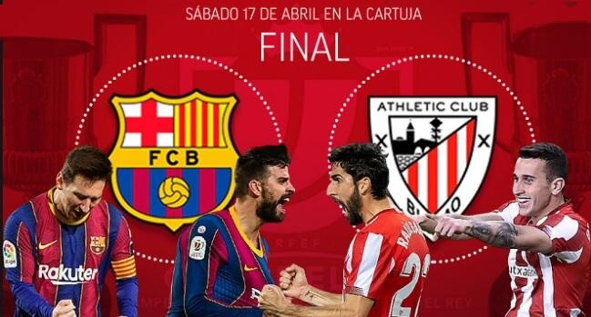 La Final de los Reyes de Copas   Barça-Athletic