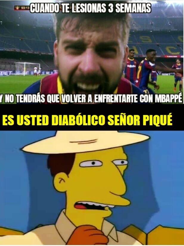 Memes Osasuna-Barcelona 2021