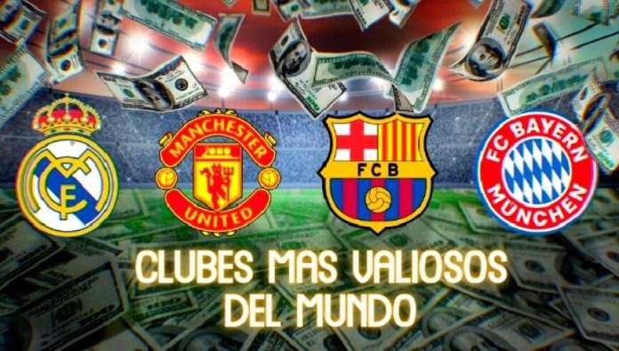 Los Clubes más Valiosos del Mundo 2020