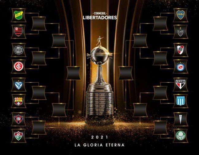 Octavos Libertadores 2021