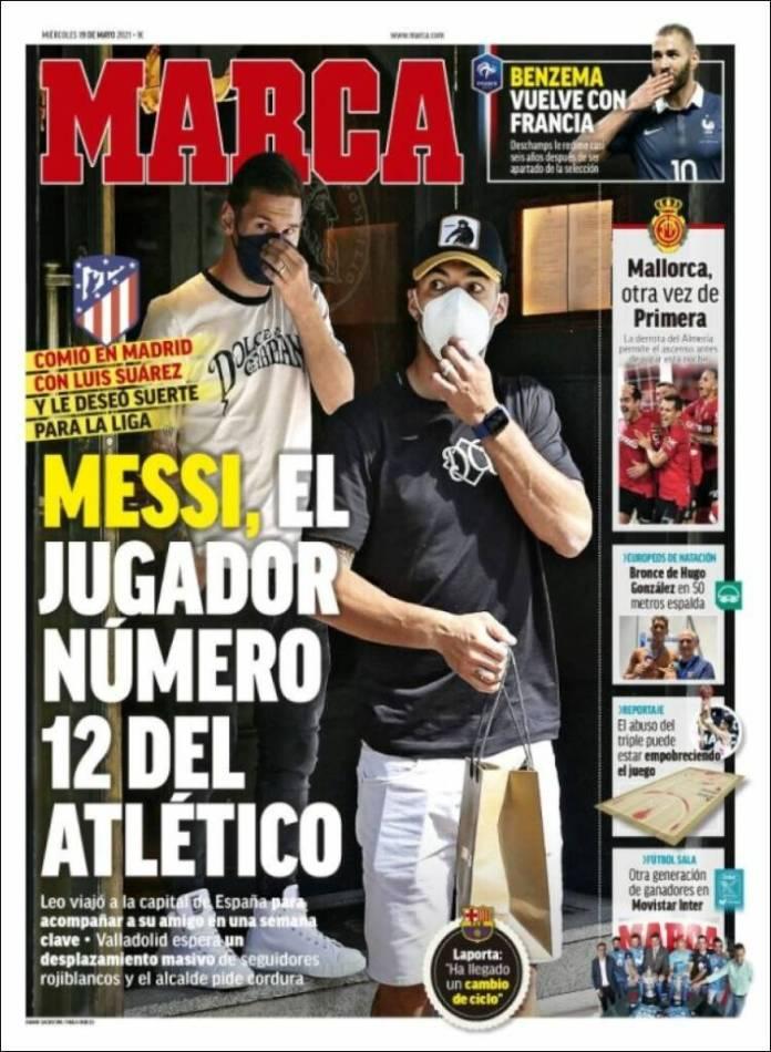 Portadas Diarios Deportivos Miércoles 19/5/2021
