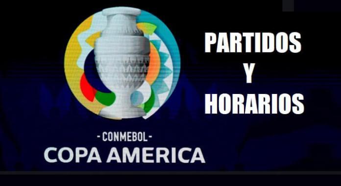 Copa América Horarios Partidos
