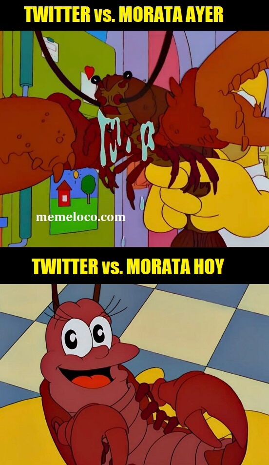 Memes Croacia-España Eurocopa 2021 twitter morata simpsons langosta