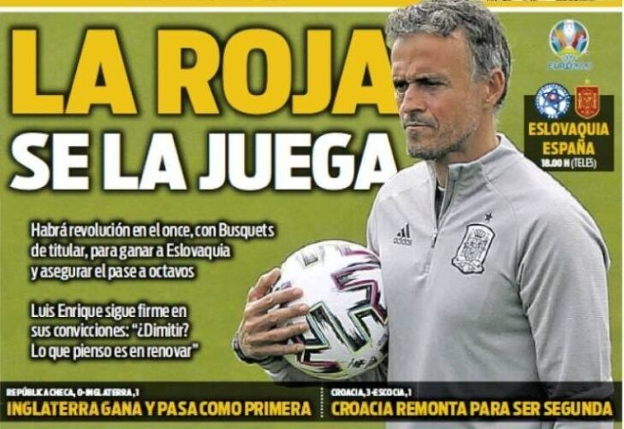 Portadas Diarios Deportivos Miércoles 23/6/2021