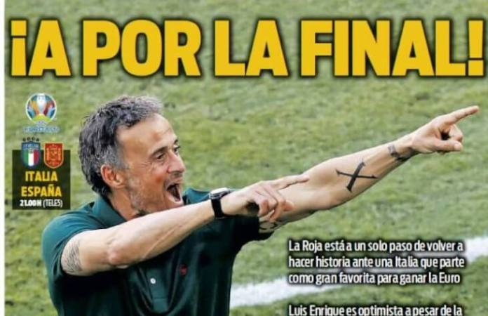 Portadas Diarios Deportivos Martes 6/7/2021