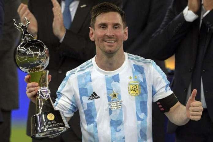 Tabla de Goleadores Copa América 2021   Messi Bota de Oro