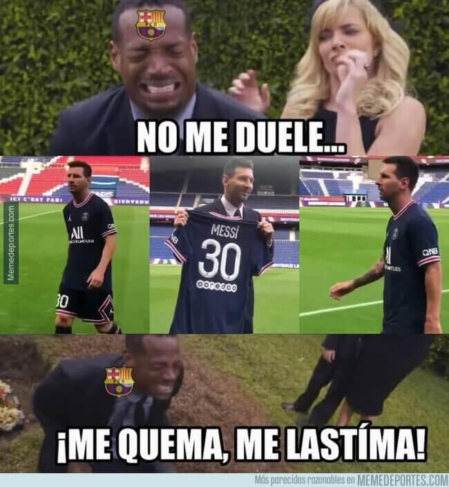 Memes Messi ficha por el PSG