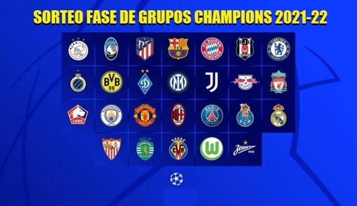 sorteo champions 2021