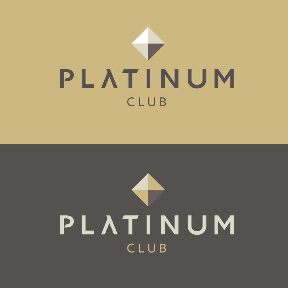 Club Platinum Logo Variation 2