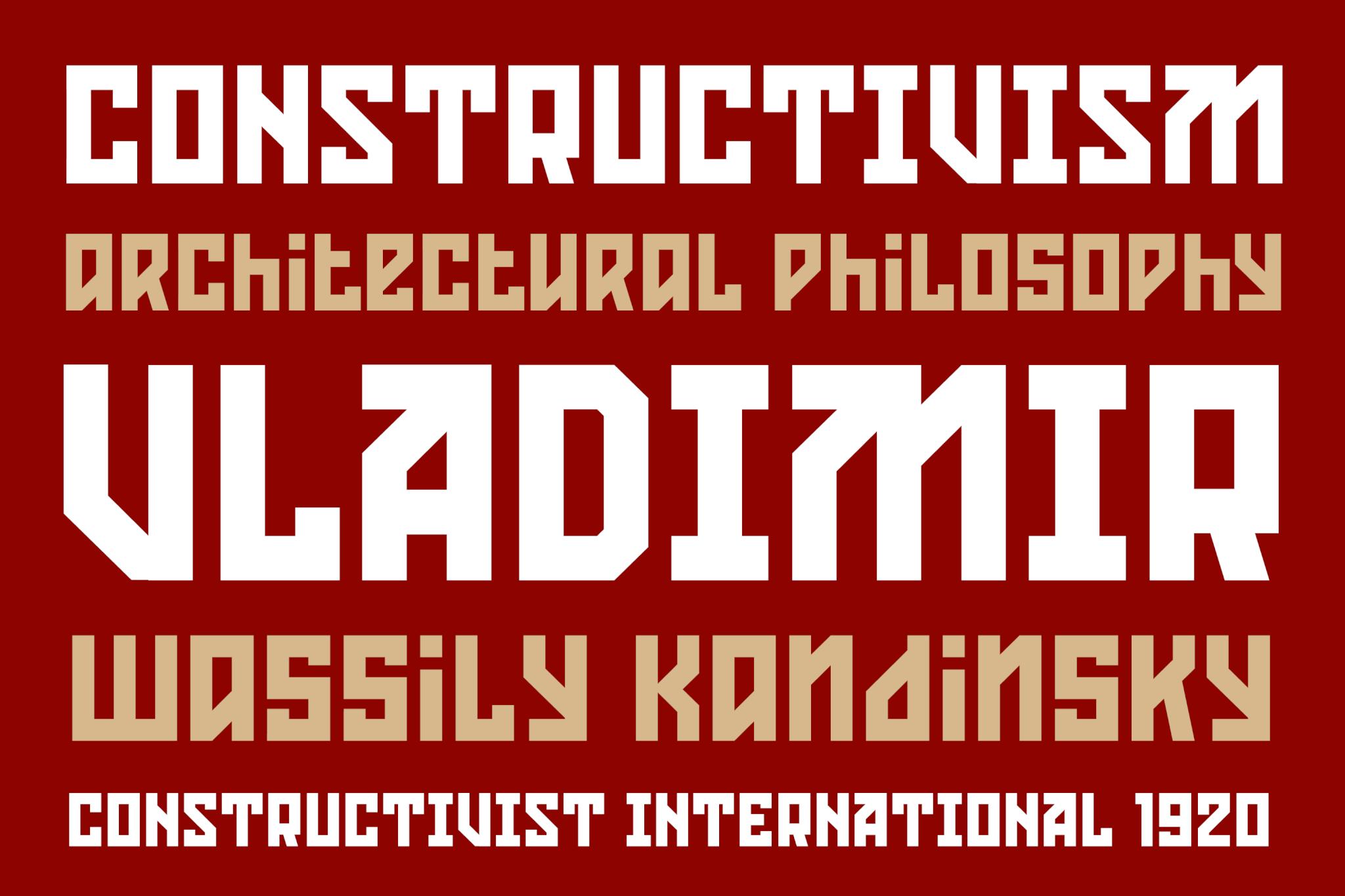 Konstruktor Latin Sample