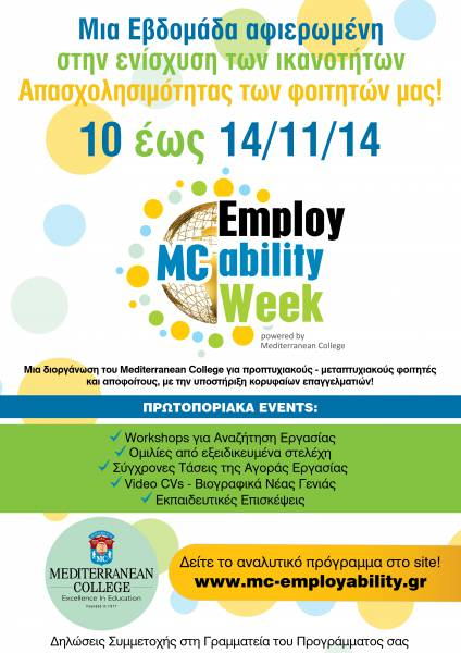 Employability Week 2014