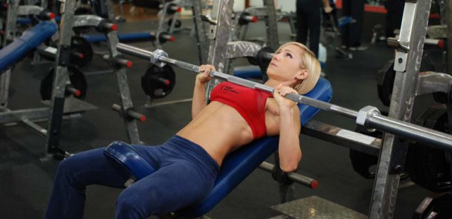 bench press - Best Chest Muscle Exercises
