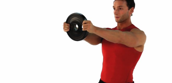 front raises 001 - Best Shoulder Muscle Exercises