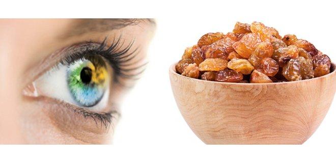 goz sagligi 003 - Benefits Of Raisins