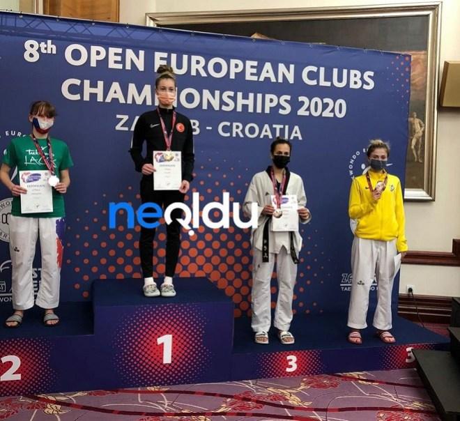Zeliha Ağrıs Avrupa Şampiyonu