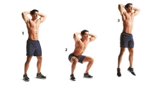 ziplamali squat - Functional Training Techniques