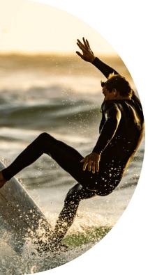 Combinaison néoprène surf