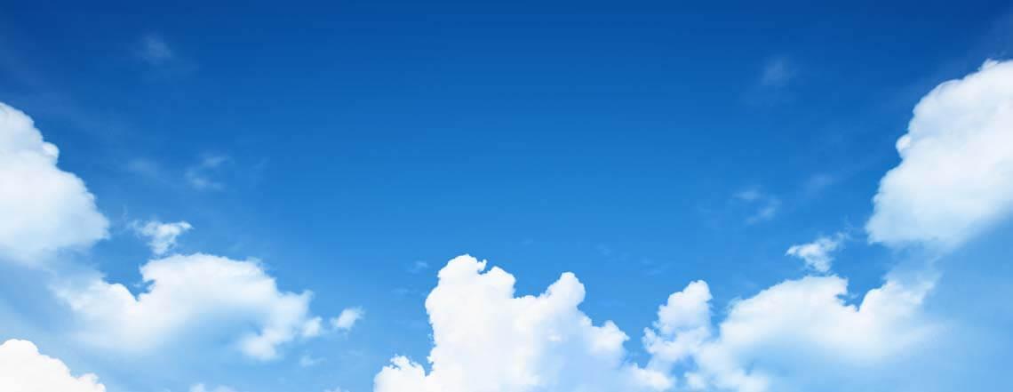 Blue Sky slide background
