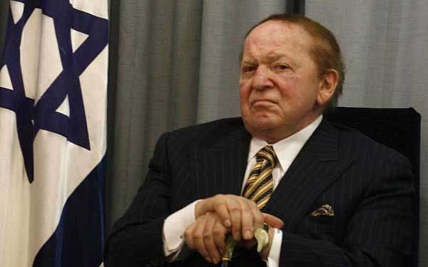 billionaire casino owner sheldon adelson is heavily tied into politics