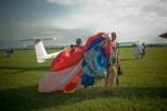 Krosno Lotnisko 25 sierpnia spadochroniarze