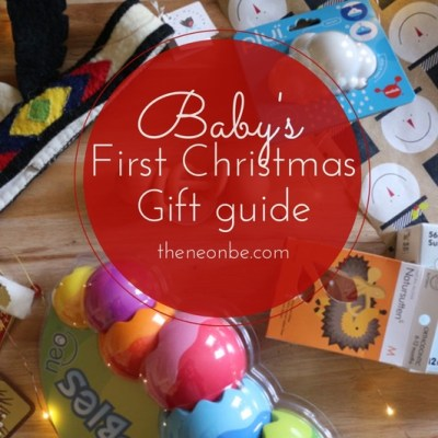 Baby's First Christmas-Gift Guide