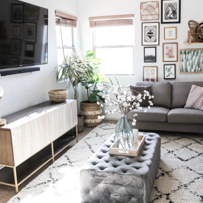 Style Meets Function- Living Room Reveal