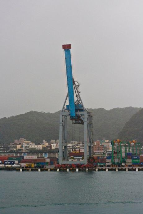 Keelung Port, Crane
