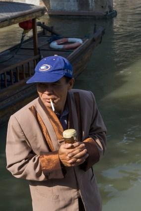 Zhujiajiao Boatman