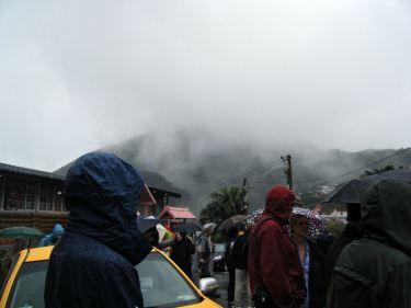 Outside Fushan Temple