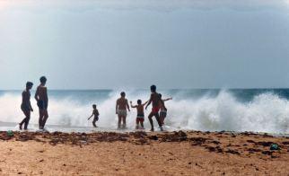 Beach, Atlantic Waves