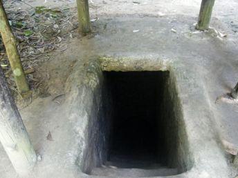 Cu Chi Tunnel Entrance