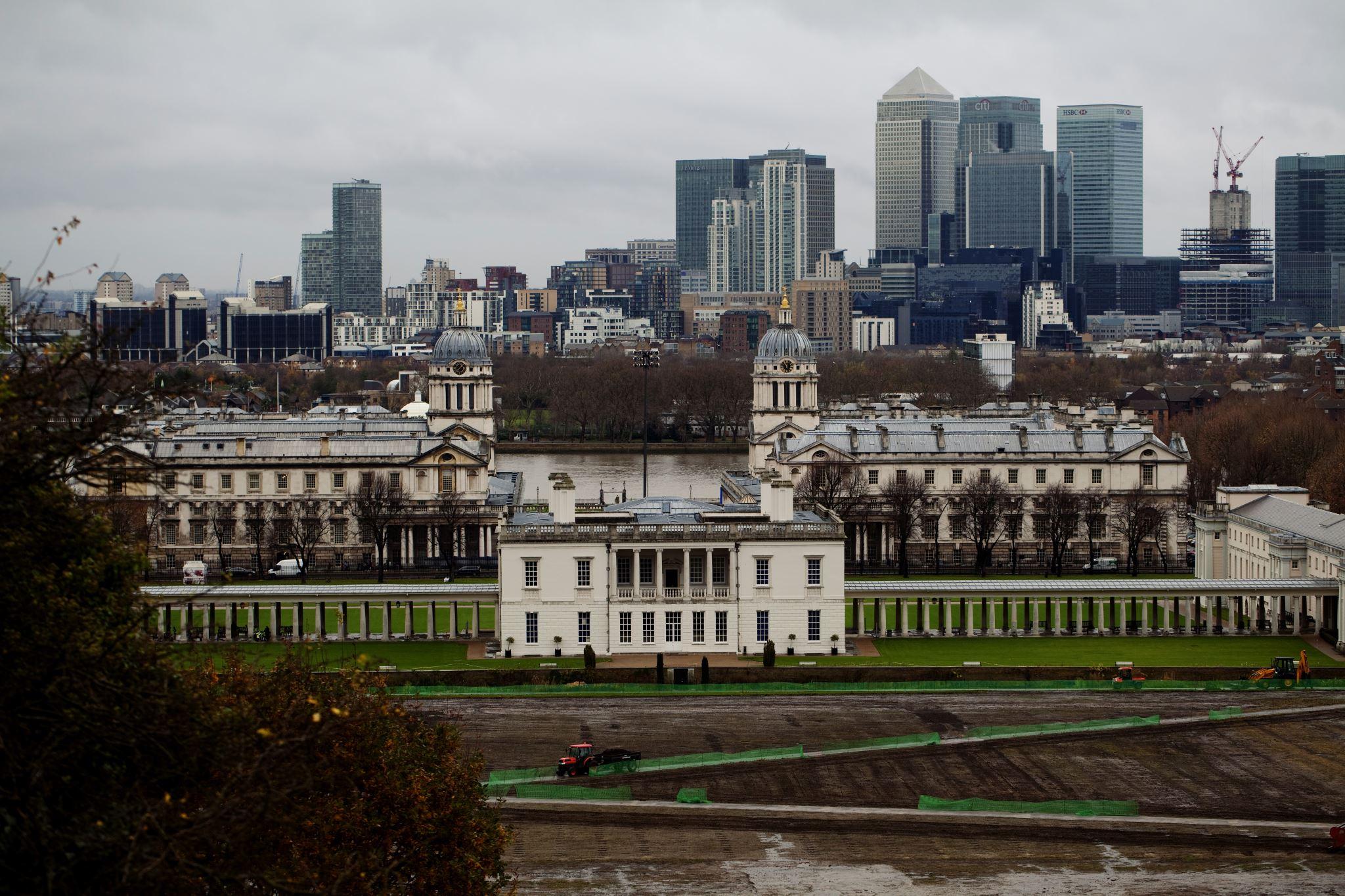 London From Greenwich