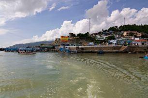 Nha Trang From Tender Boat