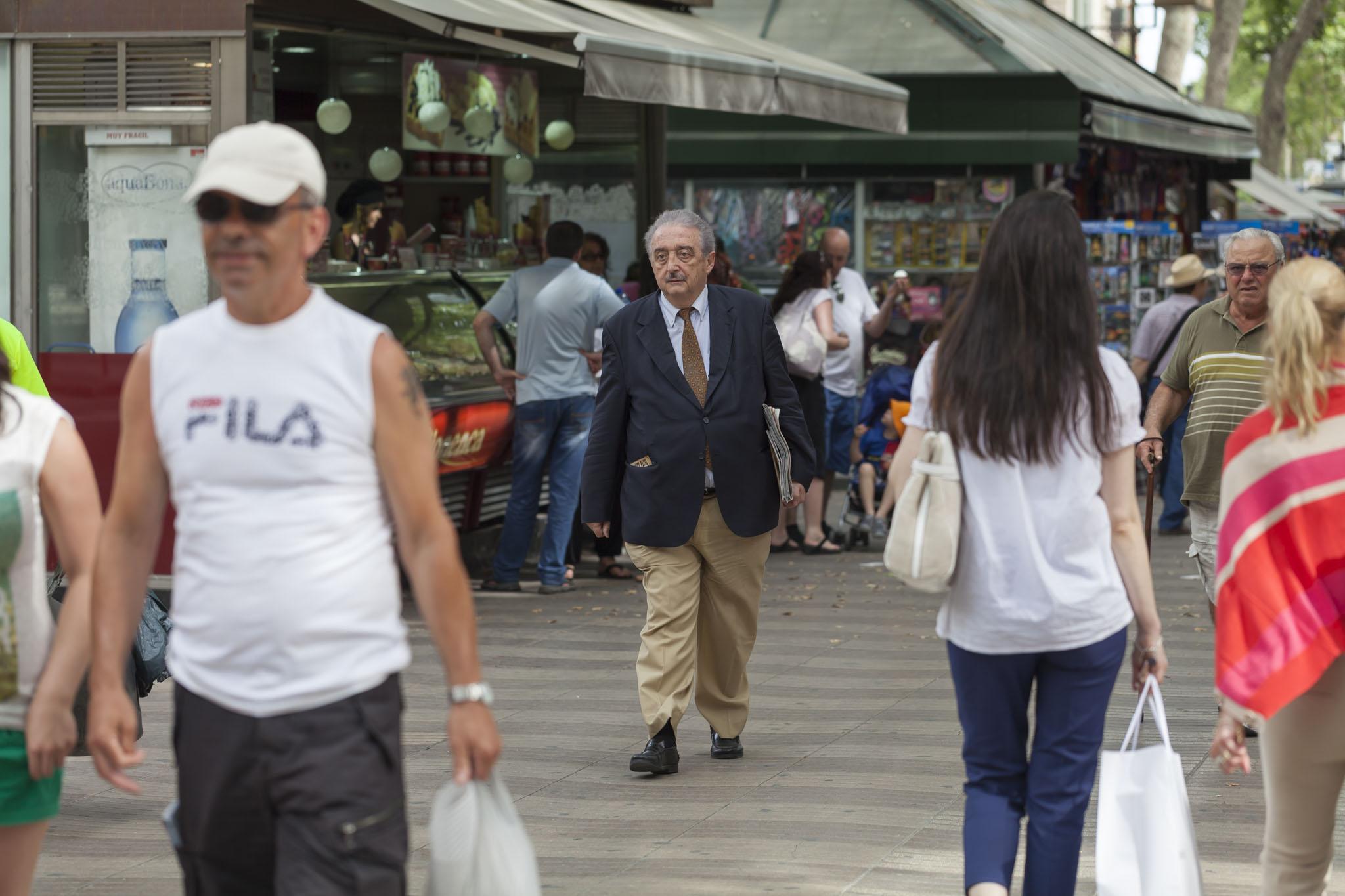 La Rambla, People