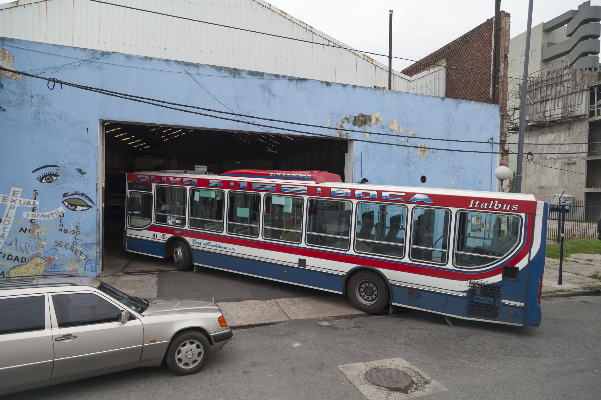 A Bus From A Coach