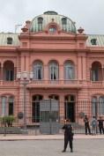 Guarding Casa Rosada