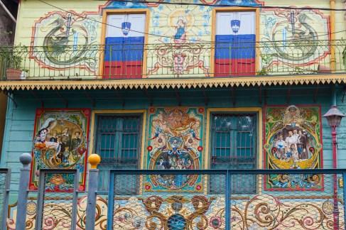 Colourful La Boca Buildings
