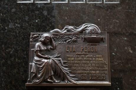 Eva Peron Duarte Crypt