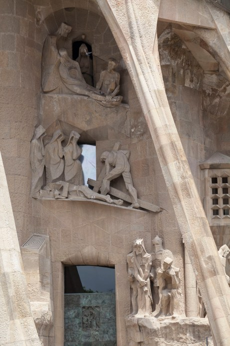 La Sagrada Familia Sculptures