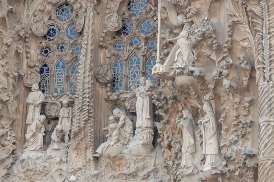 La Sagrada Familia Church Detail