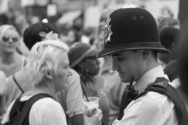 Sad Policeman