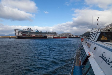 Star Princess, Beagle Channel
